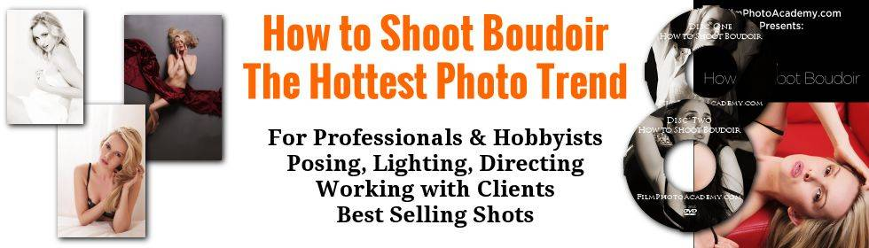 How to Shoot Boudoir Training on DVD