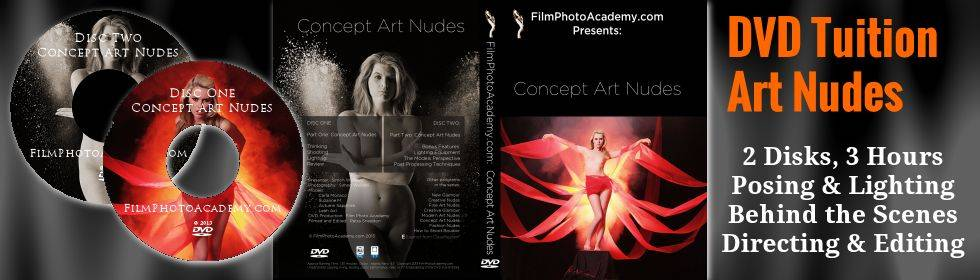 Fine Art Nude Photography Tuition on DVD